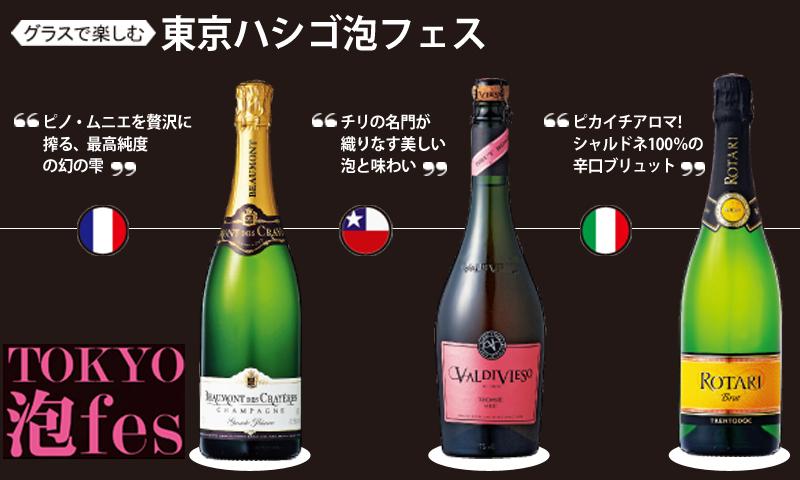 今年も再来! グラスで楽しむ 東京ハシゴ泡フェス